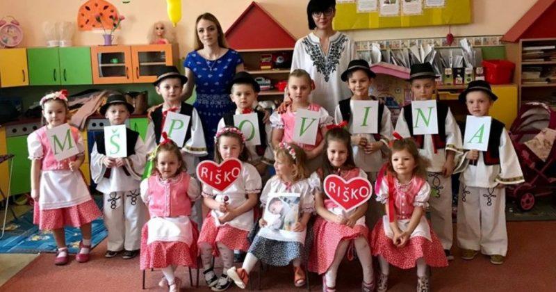 Mirouš_foto a Materská škola Povina pomáhajú Riškovi