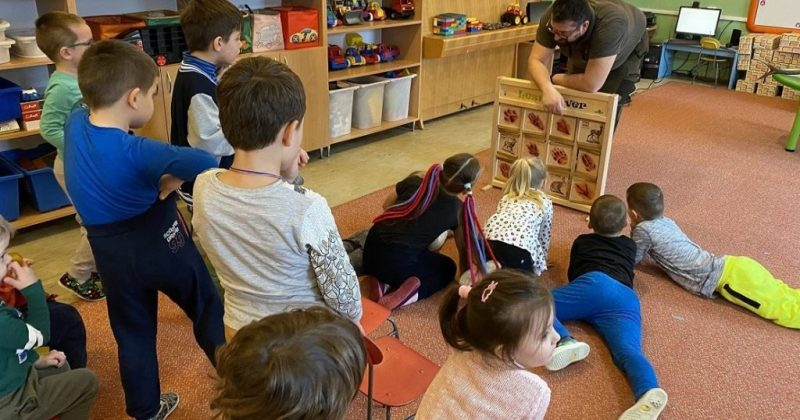 Lesy SR vzdelávali deti v materskej škole Povina